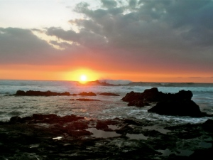 Kohanaiki Beach Sunset (Big Island)